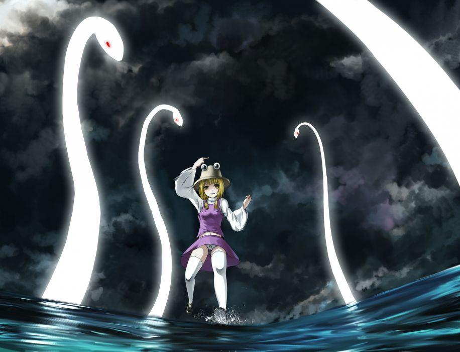 Touhou Moriya Suwako anime anime girls games wallpaper