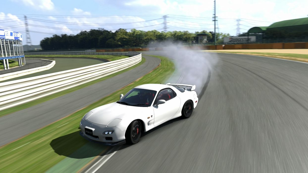 video games cars Mazda RX-7 Gran Turismo 5 Playstation 3 wallpaper