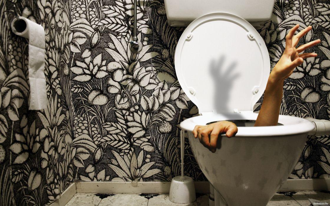 toilets wallpaper
