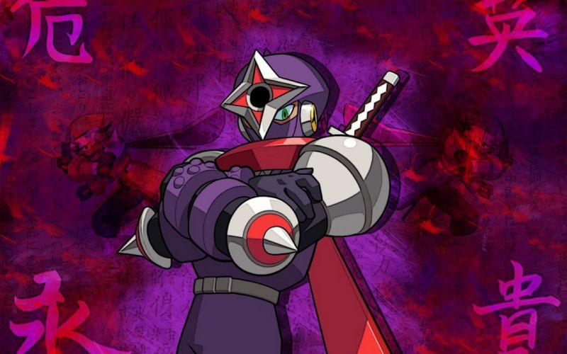 ninjas Mega Man wallpaper
