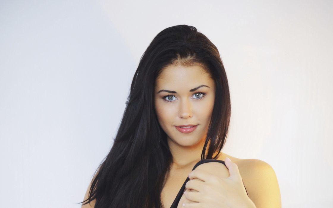 women blue eyes models Met-Art magazine nude Ukrainian Macy B wallpaper