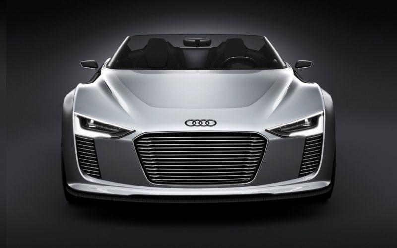 cars Audi concept art Audi E-Tron Spyder wallpaper