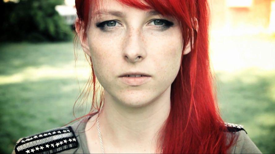 women redheads Meekakitty wallpaper
