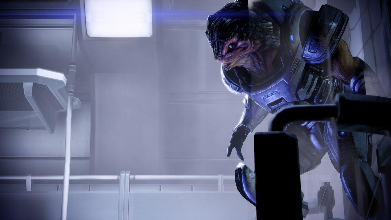 Mass Effect Mass Effect 2 krogan wallpaper