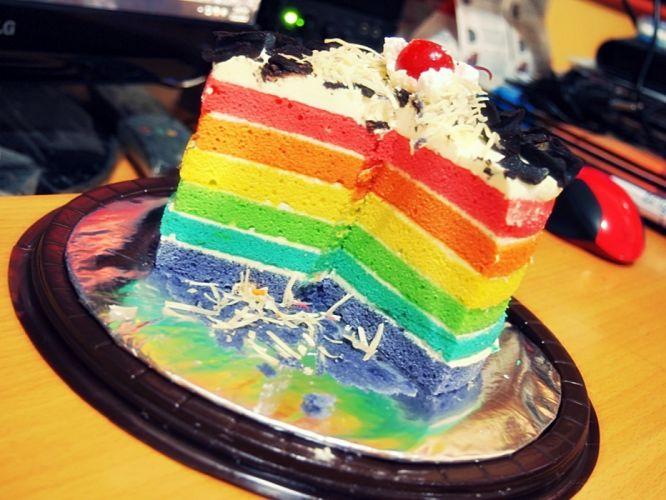 multicolor rainbows cakes rainbow cake wallpaper