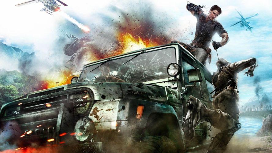 video games Jeep concept art wallpaper