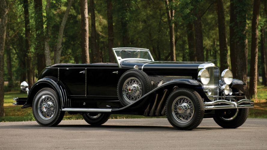 vintage cars Duesenberg classic cars wallpaper