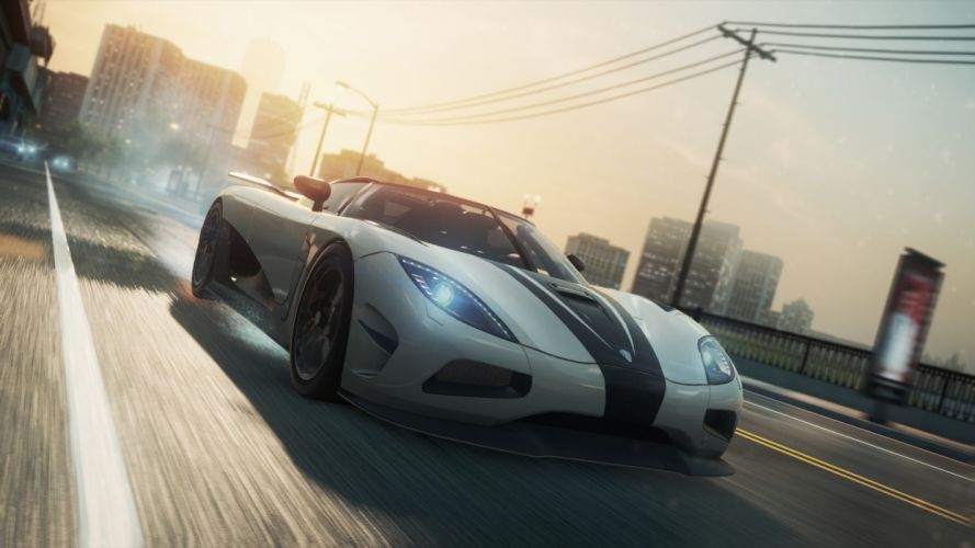 video games cars Koenigsegg Agera R Need for Speed Most Wanted wallpaper