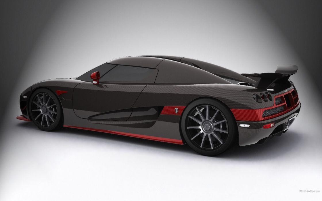 black red cars Koenigsegg wallpaper