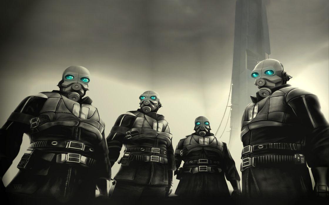 Half-Life Combine wallpaper