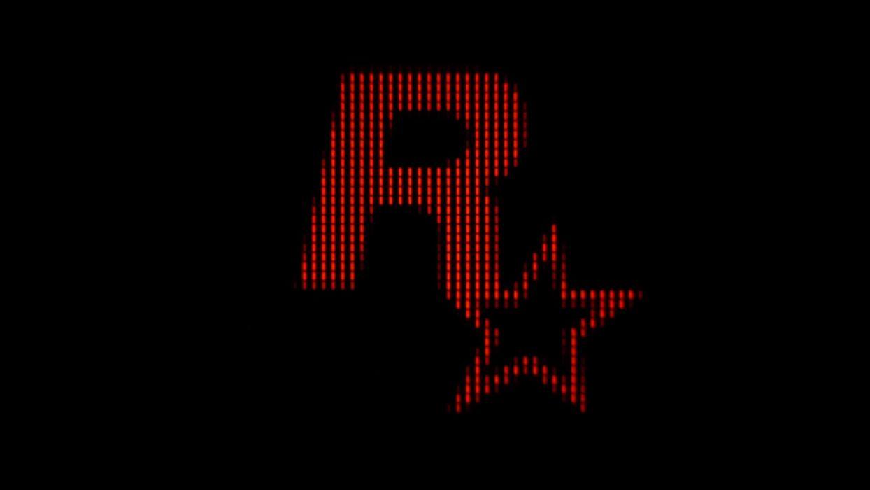Rockstar Games logos wallpaper
