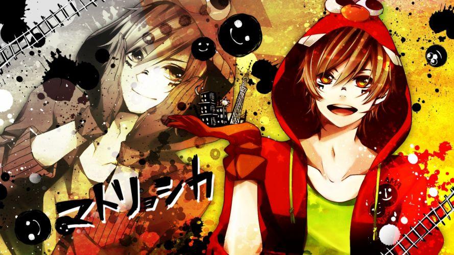 Vocaloid amatsuki Matryoshka wallpaper