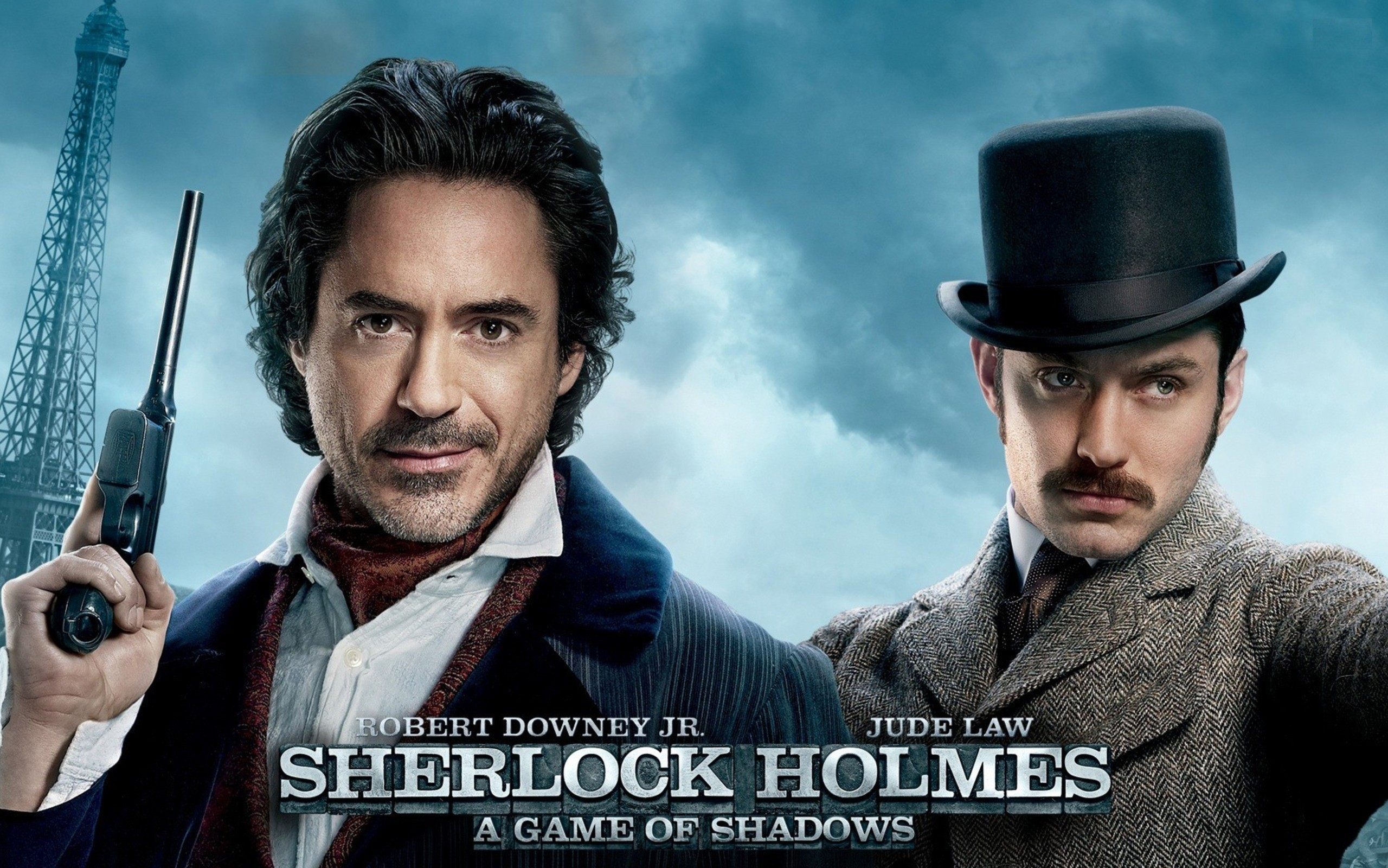 Movies Robert Downey Jr Sherlock Holmes Jude Law Doctor Watson ...