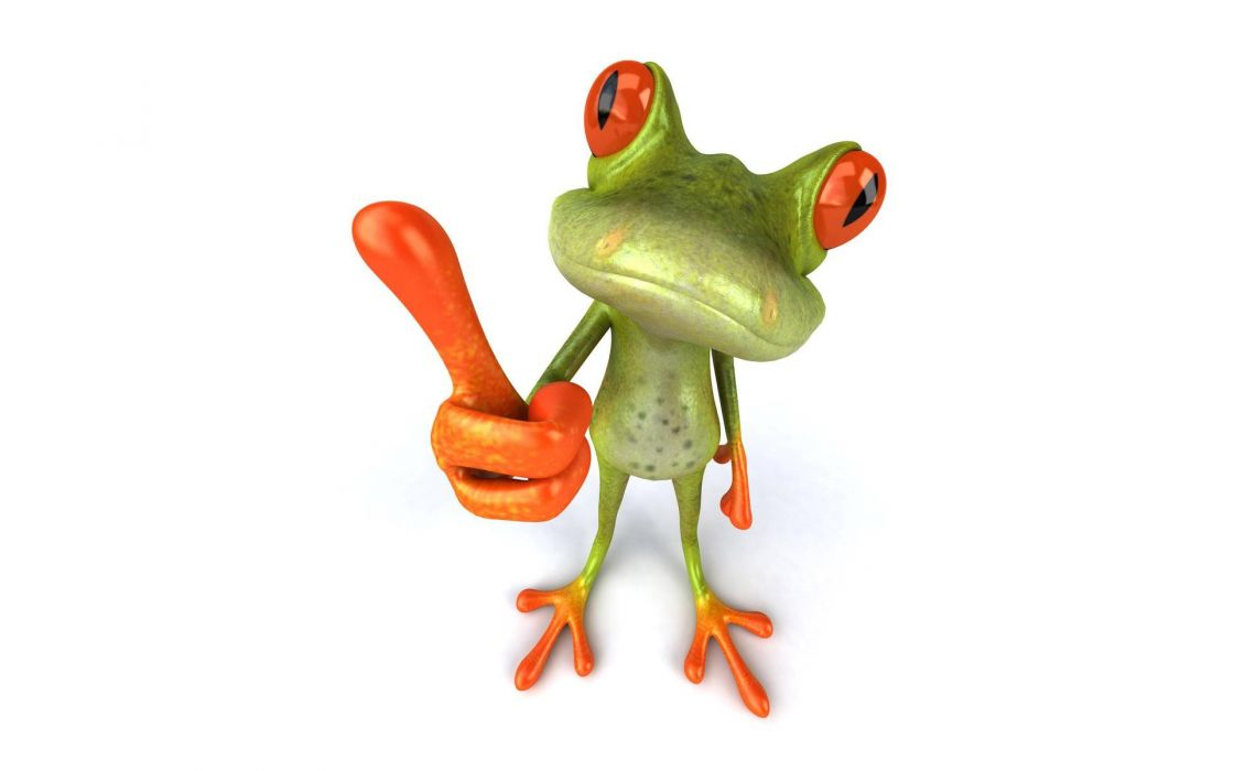 funny frogs wallpaper