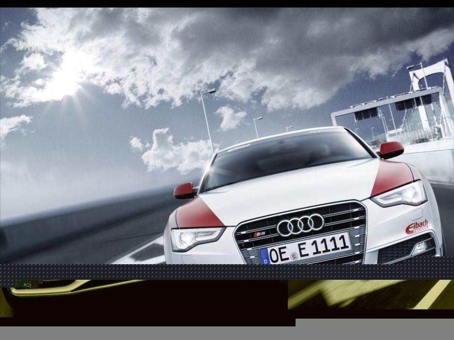 cars Audi tuning Motion Audi S5 luxury sport cars Eibach Audi S5 Project wallpaper