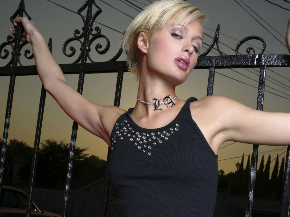 blondes women Paris Hilton wallpaper