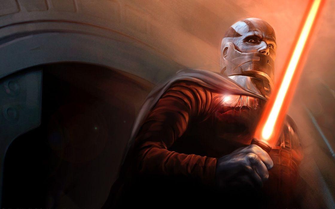 Star Wars lightsabers artwork Knights of the Old Republic Darth Malak wallpaper