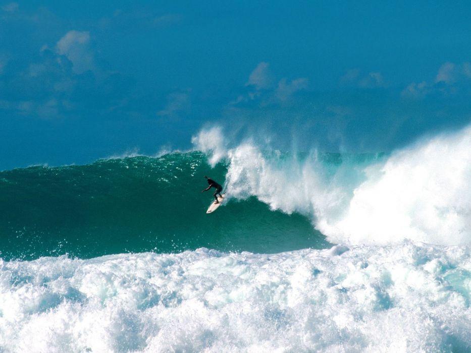 ocean waves surfing surfers wallpaper