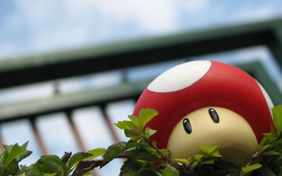 mushrooms Super Mario Bros_ 3 wallpaper