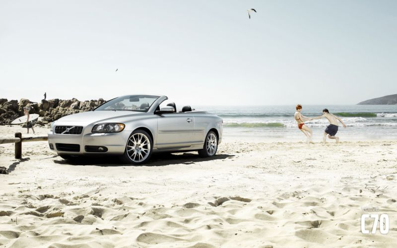 coupe Volvo C70 wallpaper