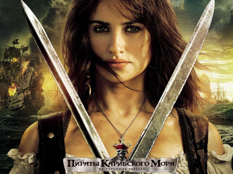 movies Penelope Cruz Pirates of the Caribbean On Stranger Tides wallpaper