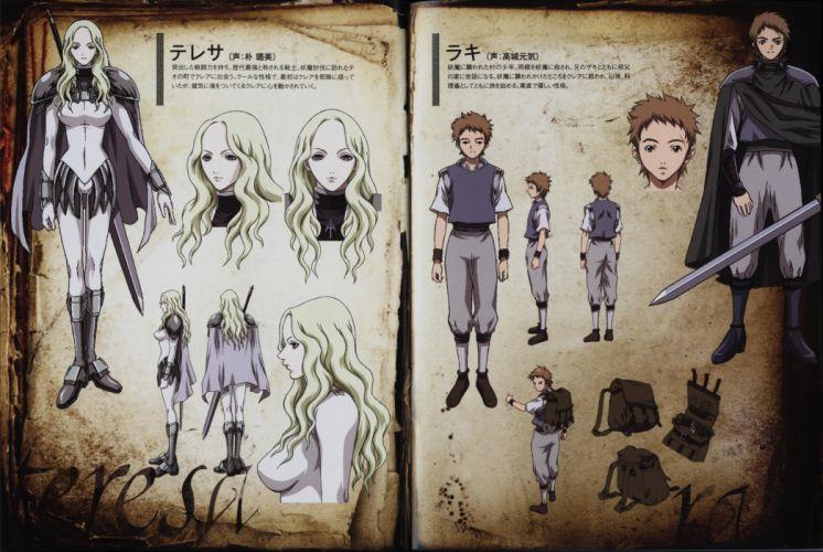 Claymore artwork anime wallpaper
