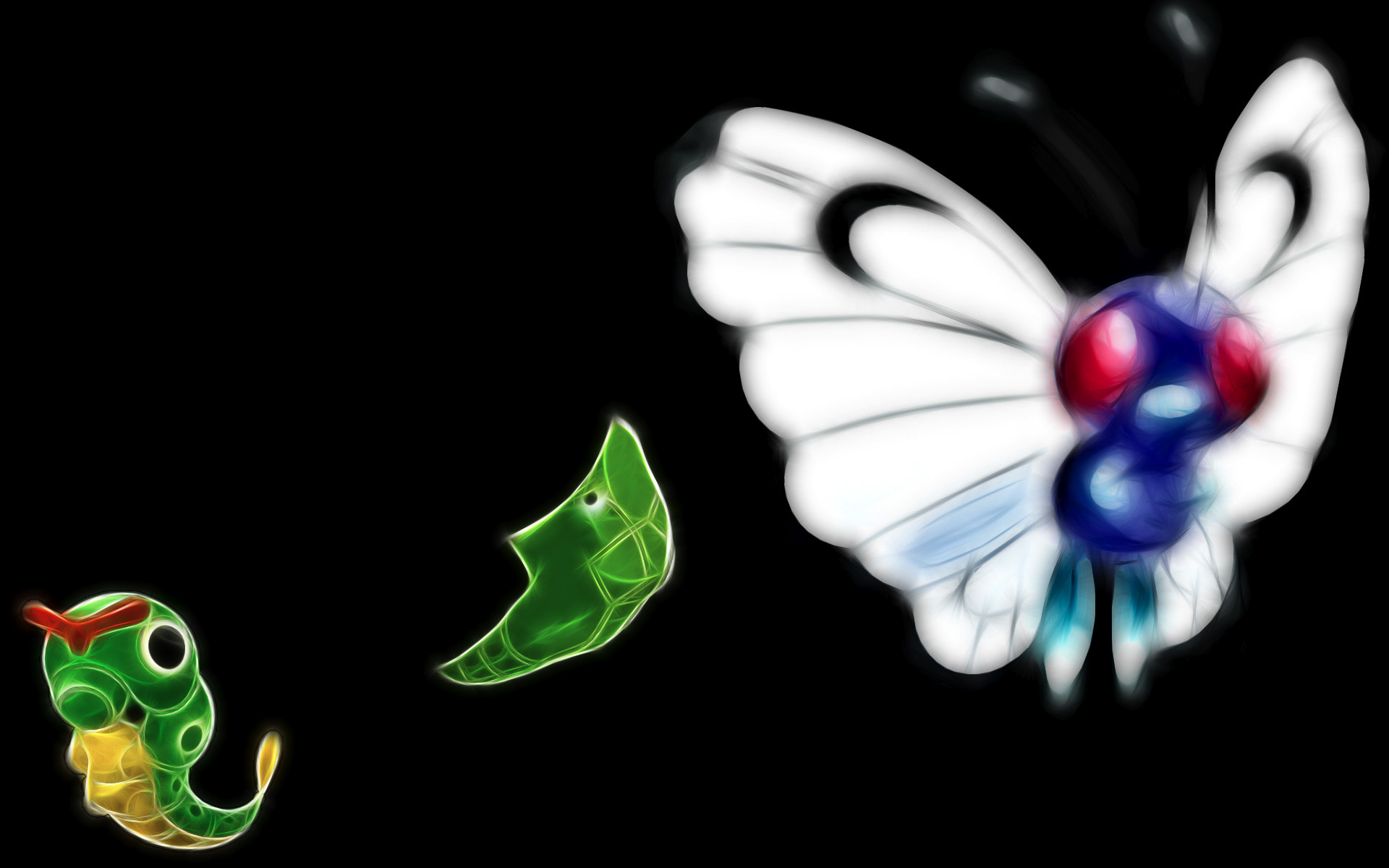 Caterpie, Metapod and Butterfree: 10  handpicked ideas to discover ...