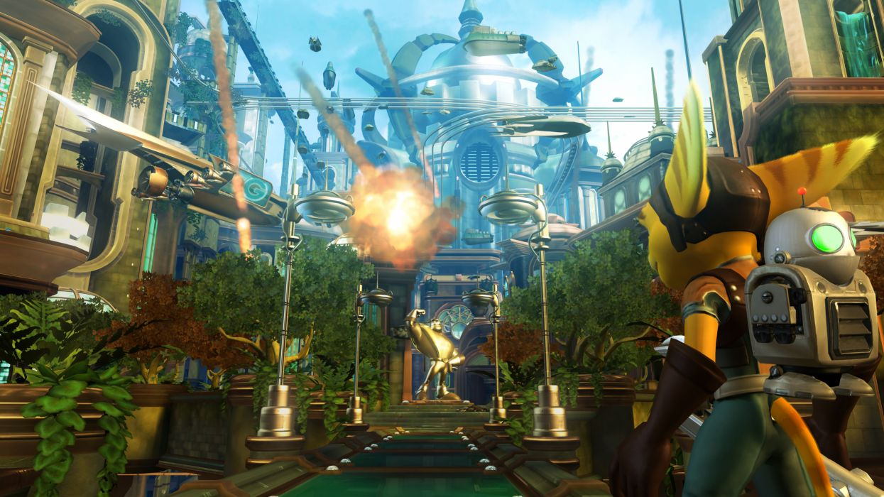 video games Ratchet and Clank ratchet wallpaper