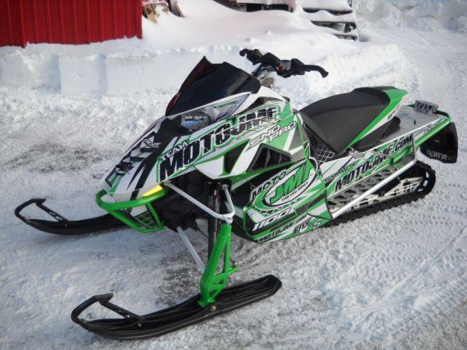 ARTIC-CAT XF1100 Turbo Sno Pro snowmobile winter artic cat s wallpaper