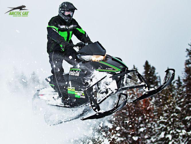 ARTIC-CAT XF1100 Turbo Sno Pro snowmobile winter artic cat f wallpaper