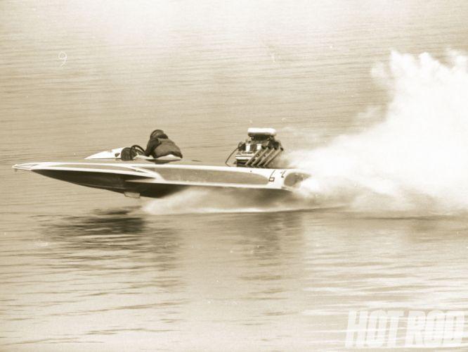 DRAG-BOAT race racing ship hot rod rods drag t wallpaper