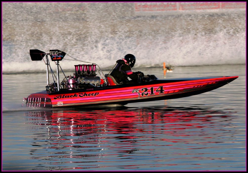 DRAG-BOAT race racing ship hot rod rods drag engine   fb wallpaper