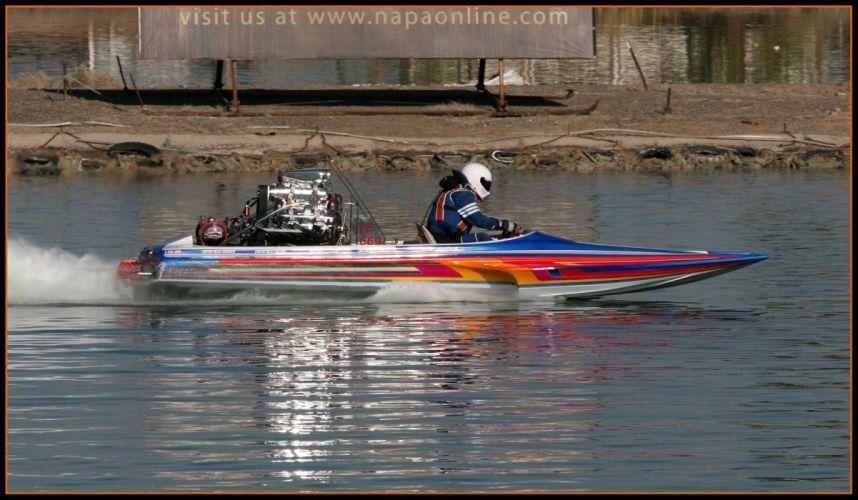 DRAG-BOAT race racing ship hot rod rods drag engine gw wallpaper