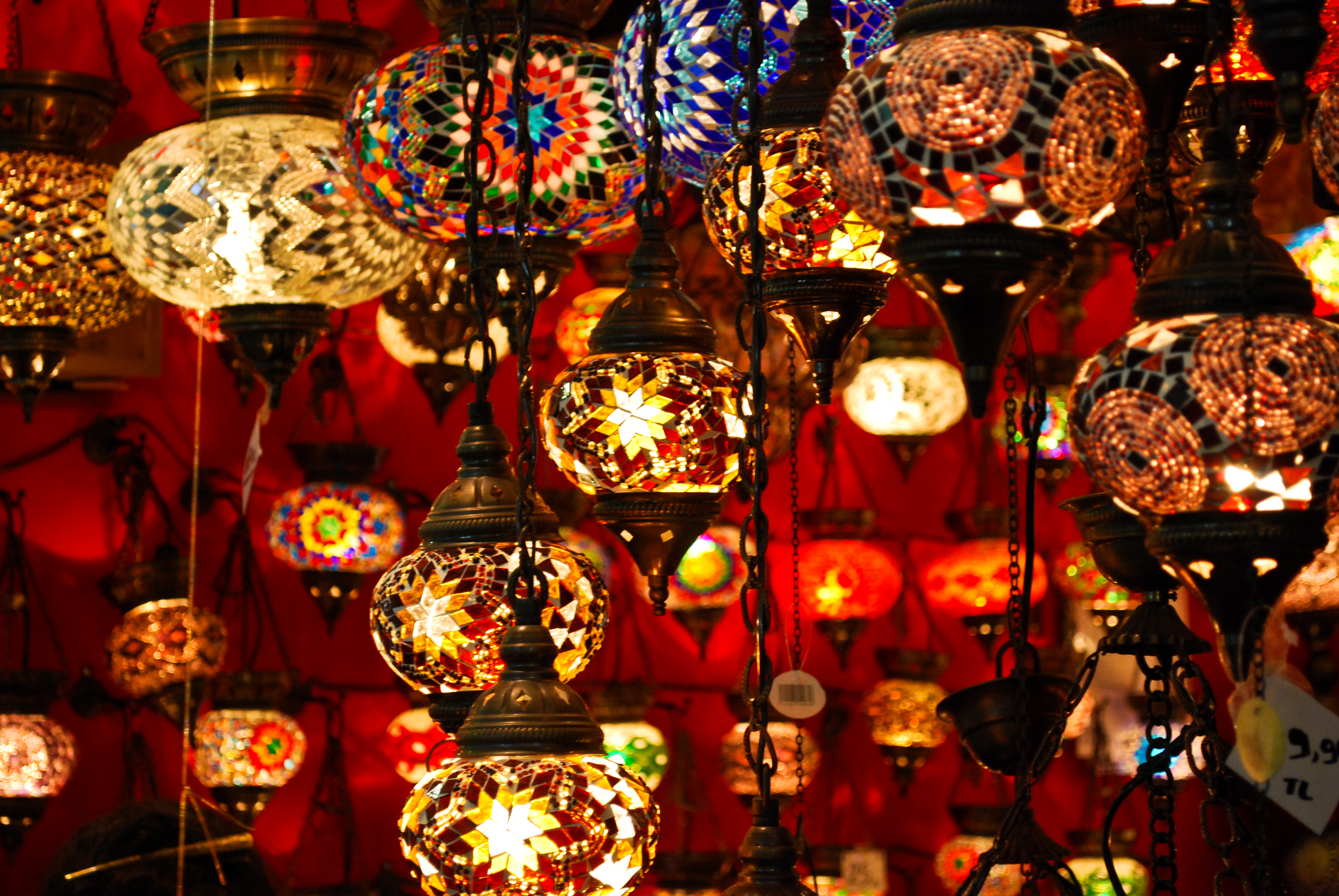 Lamp light lights design bokeh bulb 5 wallpaper - Turkis dekoration ...