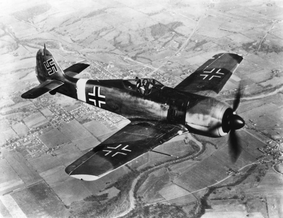 military war wwll airplane aircraft plane nazi        f wallpaper