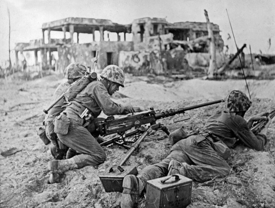 military war wwll soldier weapon gun        f wallpaper