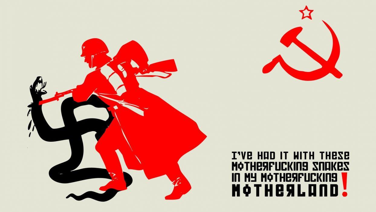 NAZI military poster russian sadic      f wallpaper
