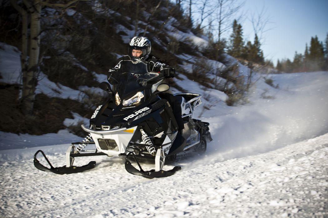 POLARIS PRO RMK snowmobile winter sled snow t wallpaper