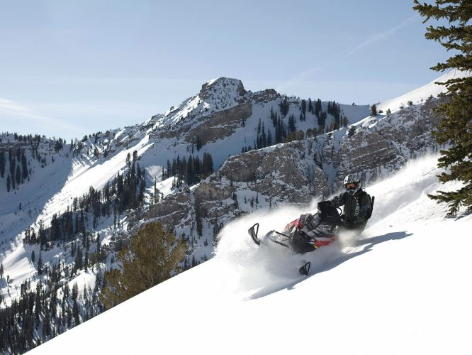 POLARIS PRO RMK snowmobile winter sled snow g wallpaper