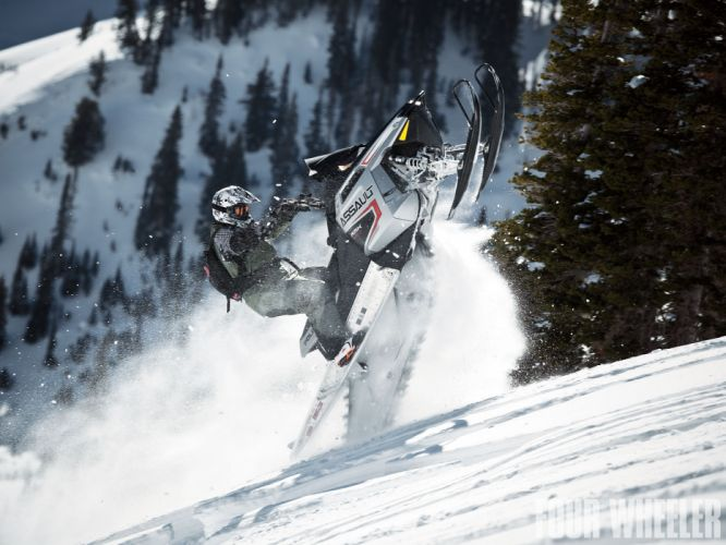 POLARIS RMK ASSAULT snowmobile winter sled snow f wallpaper