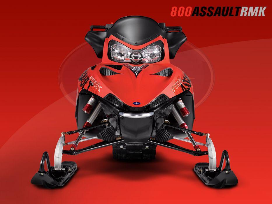 POLARIS RMK ASSAULT snowmobile winter sled snow     j wallpaper