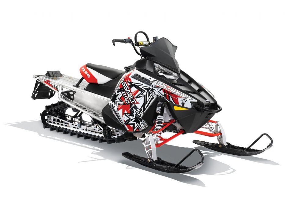 POLARIS RMK ASSAULT snowmobile winter sled snow    kg wallpaper