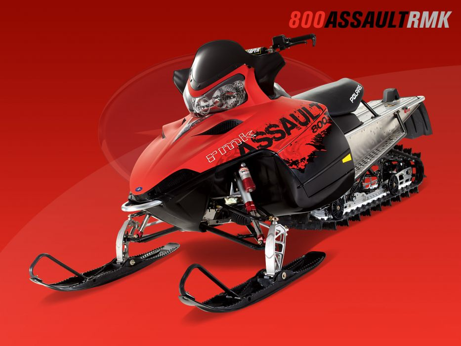POLARIS RMK ASSAULT snowmobile winter sled snow    fs wallpaper