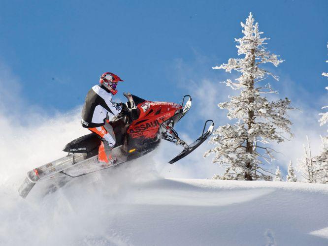 POLARIS RMK ASSAULT snowmobile winter sled snow fa wallpaper