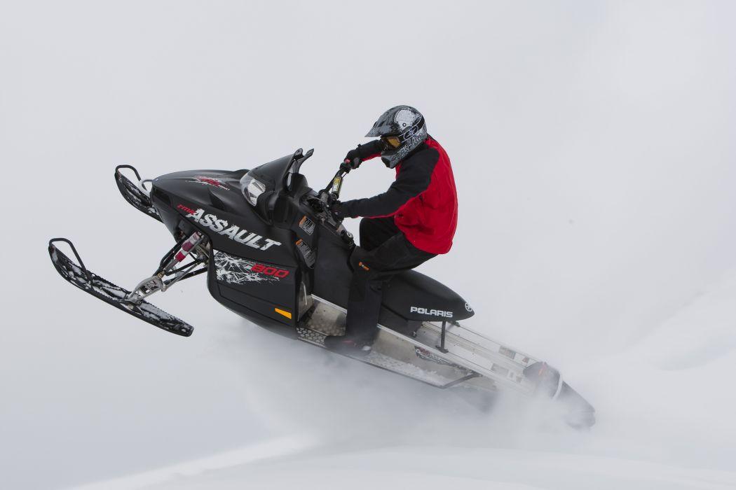 POLARIS RMK ASSAULT snowmobile winter sled snow   y wallpaper