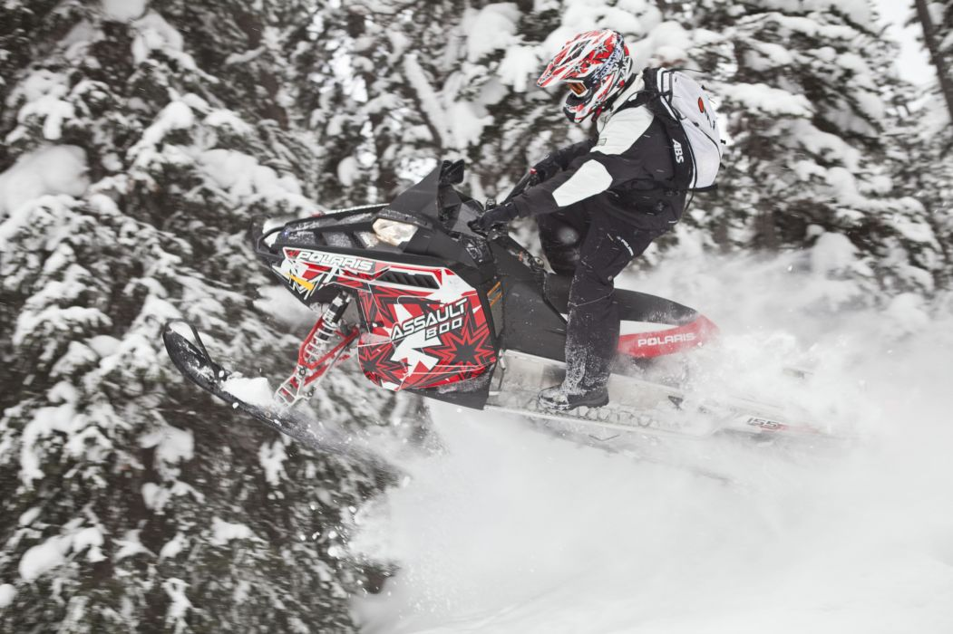 POLARIS RMK ASSAULT snowmobile winter sled snow d wallpaper