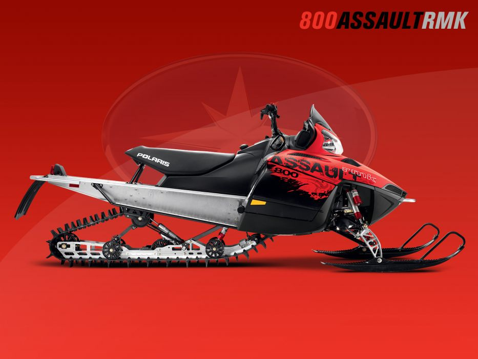 POLARIS RMK ASSAULT snowmobile winter sled snow  d wallpaper