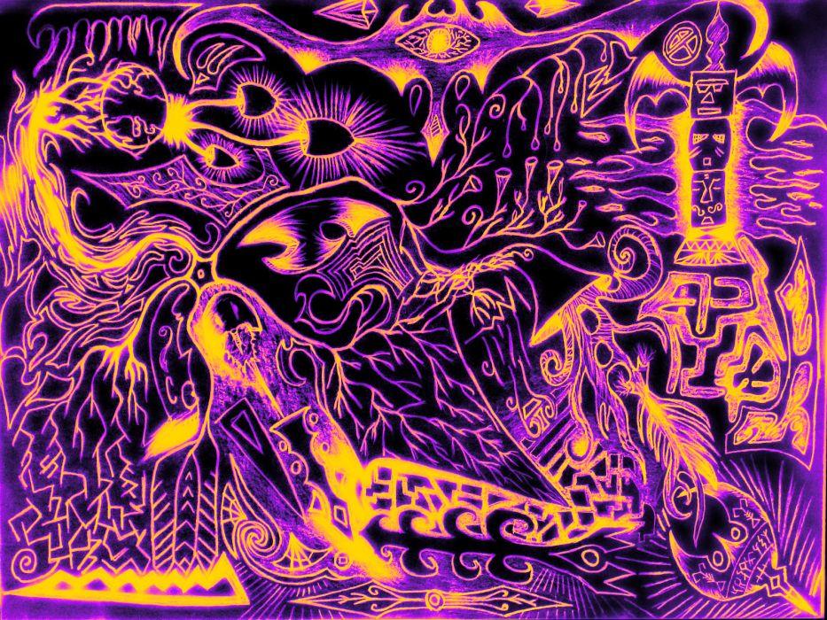 psychedelic bokeh art        g wallpaper