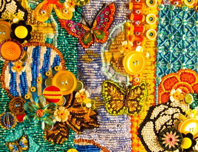 psychedelic bokeh butterfly g wallpaper