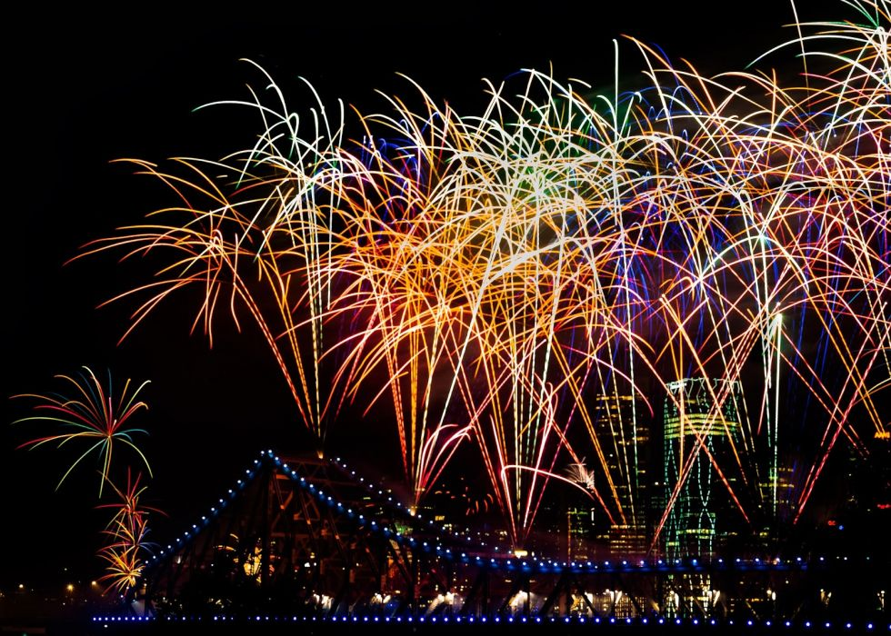 psychedelic firteworks festive holiday bridge new year july 4th      g wallpaper